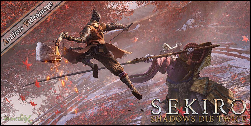 Portada de Sekiro