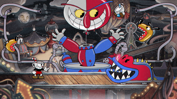 Cuphead switch - Un ejemplo de originalidad audiovisual