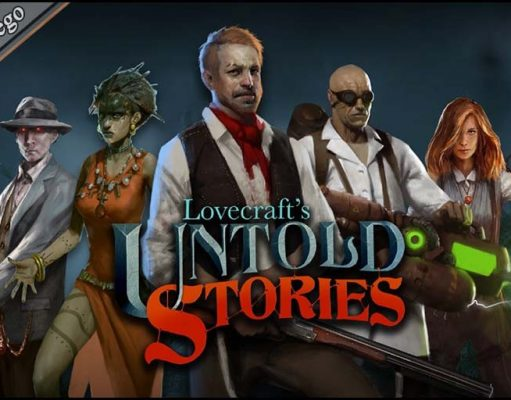 Portada Lovecraft's Untold Stories