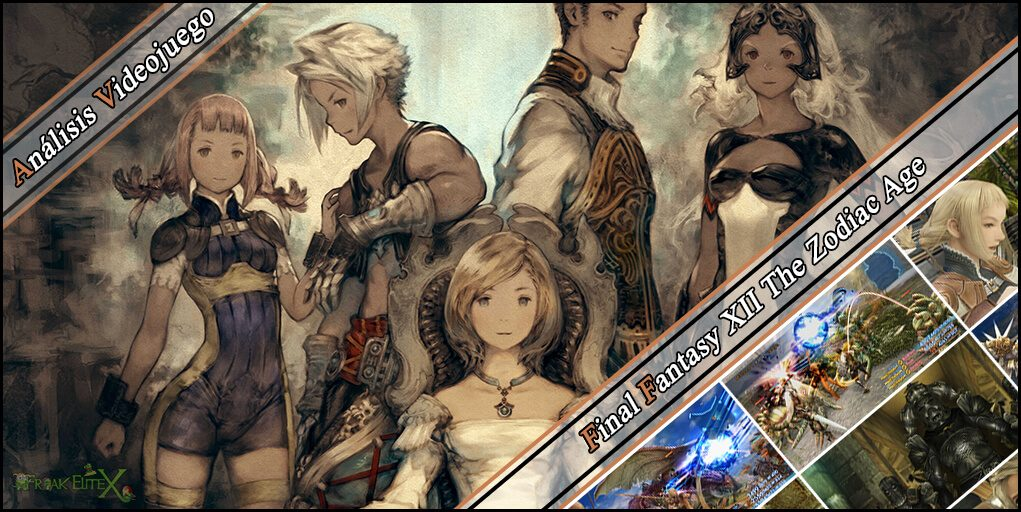 Portada de Final Fantasy XII The Zodiac Age