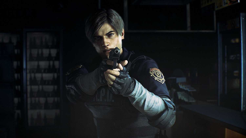 Leon, uno de los protagonistas de Resident Evil II remake.