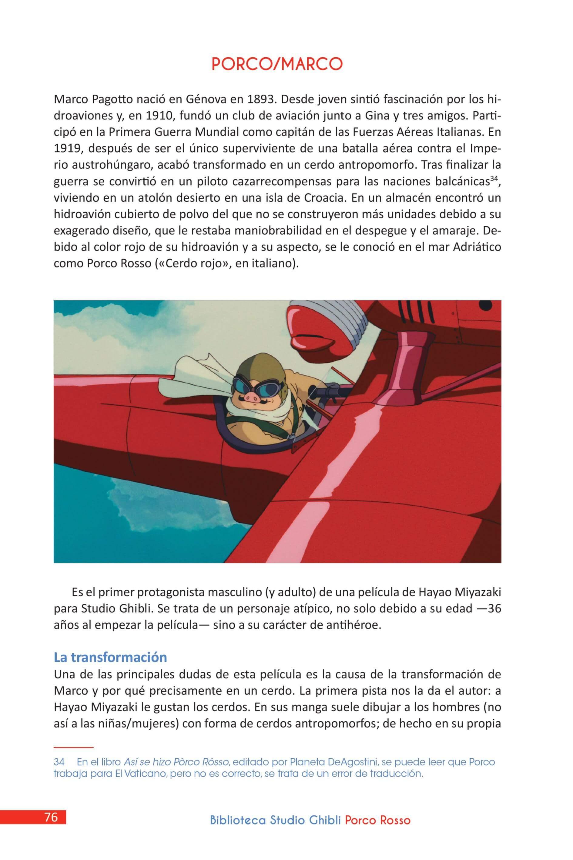 Análisis 'Biblioteca Studio Ghibli: Porco Rosso' (2)