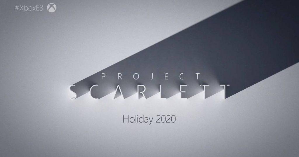Nueva consola de Microsoft, se lanzará en 2020