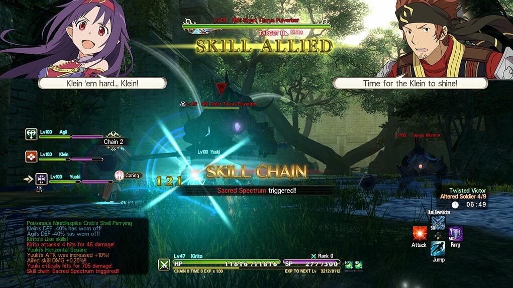 Análisis Sword Art Online Hollow Realization (2)