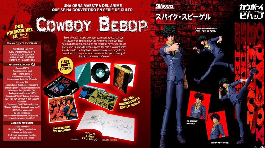 Cowboy Bebop oferta selecta visión