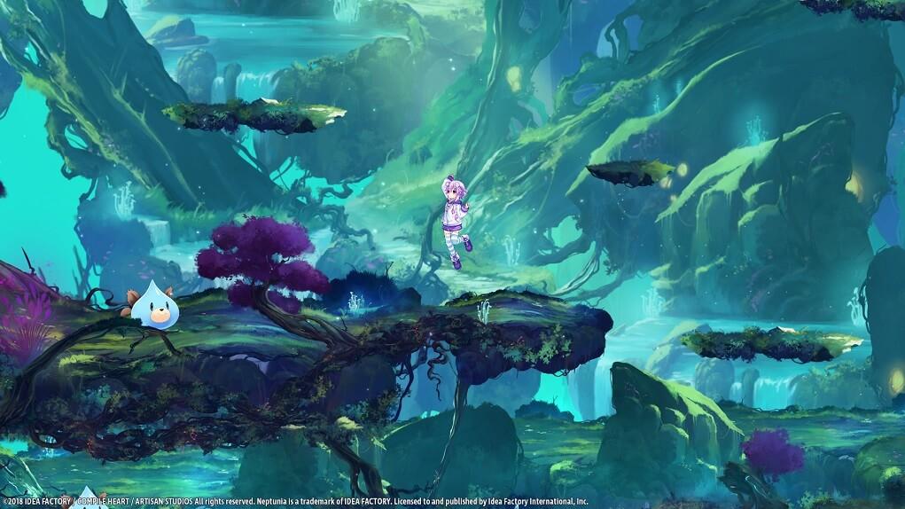 Análisis Super Neptunia RPG