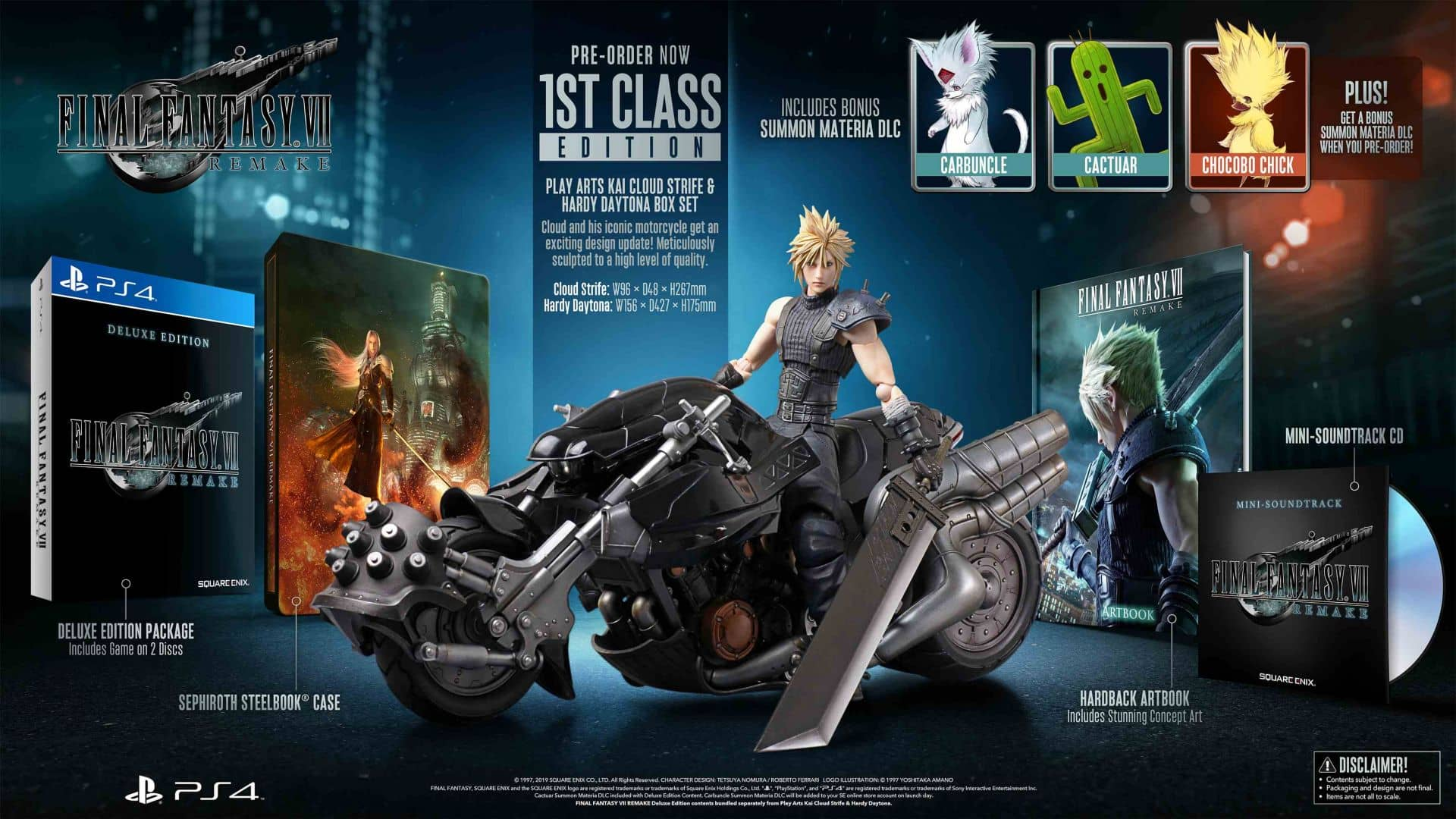 E3 Final Fantasy VII Remake, 1st Class Edition