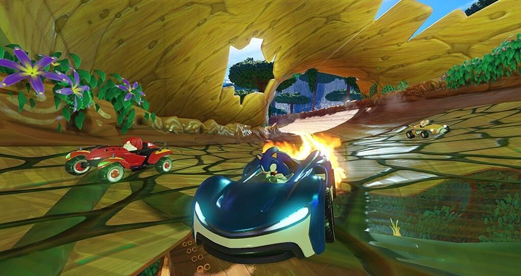Impresiones Team Sonic Racing