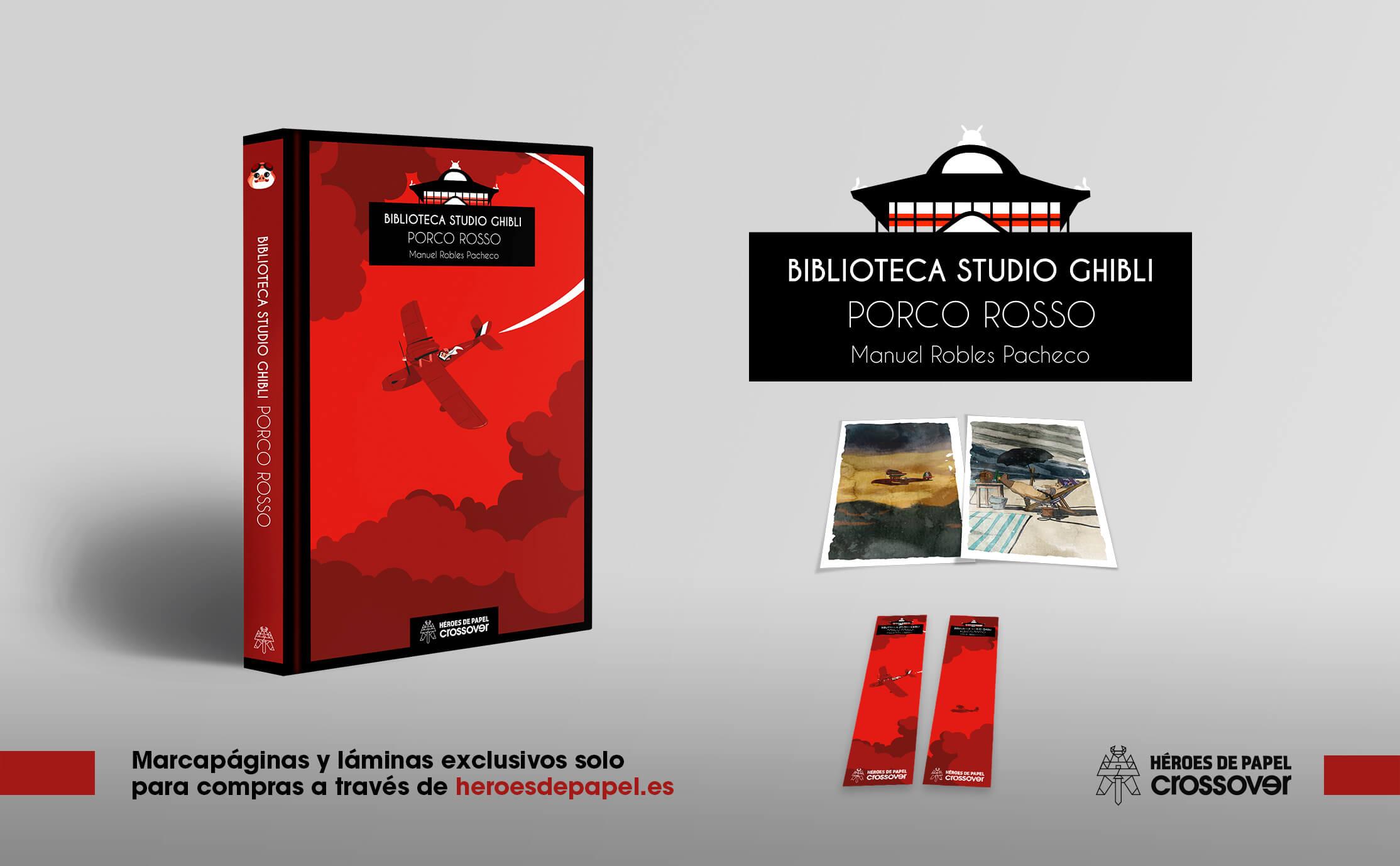 Biblioteca Studio Ghibli: Porco Rosso marcapáginas