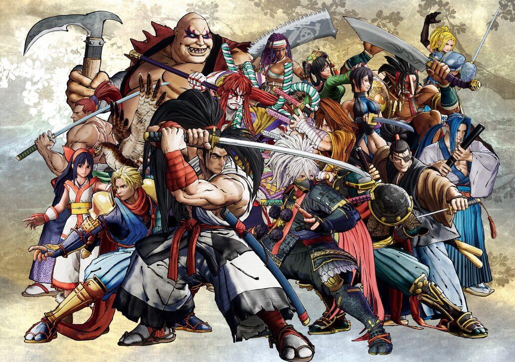 elenco de SNK, Samurai Shodown