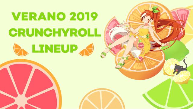 simulcast verano 2019 Crunchyroll imagen destacada
