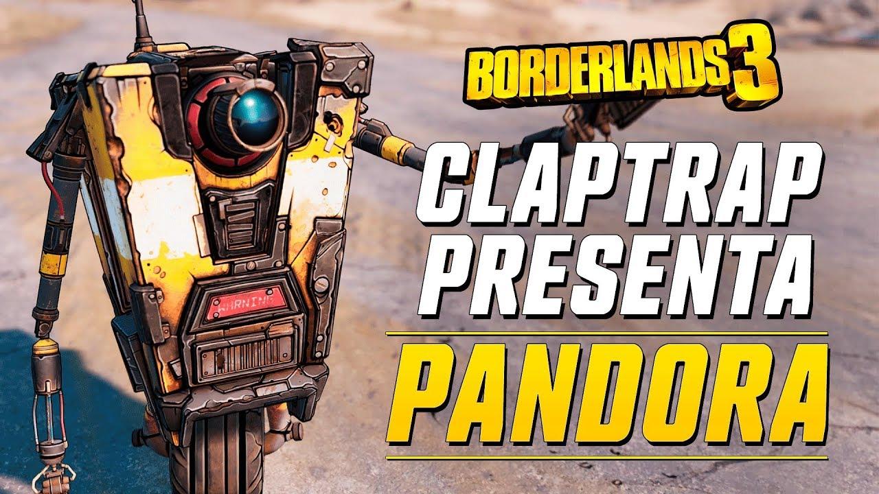 Claptrap presenta Borderlands 3