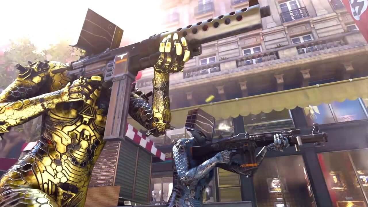 Análisis Wolfenstein: YoungBlood, podremos personalizar nuestro aspecto y las armas con varias opciones.