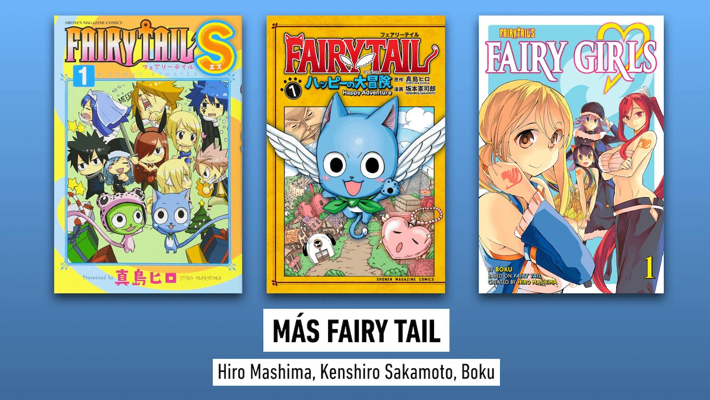 Norma novedades Japan más Fairy Tail