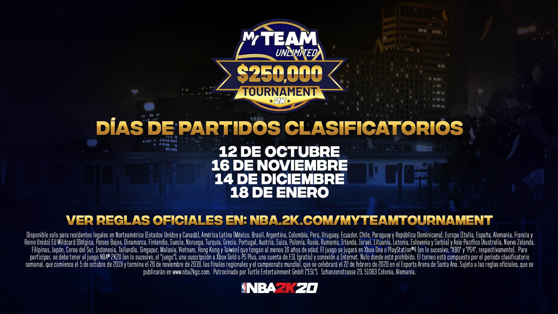 torneo NBA 2K20