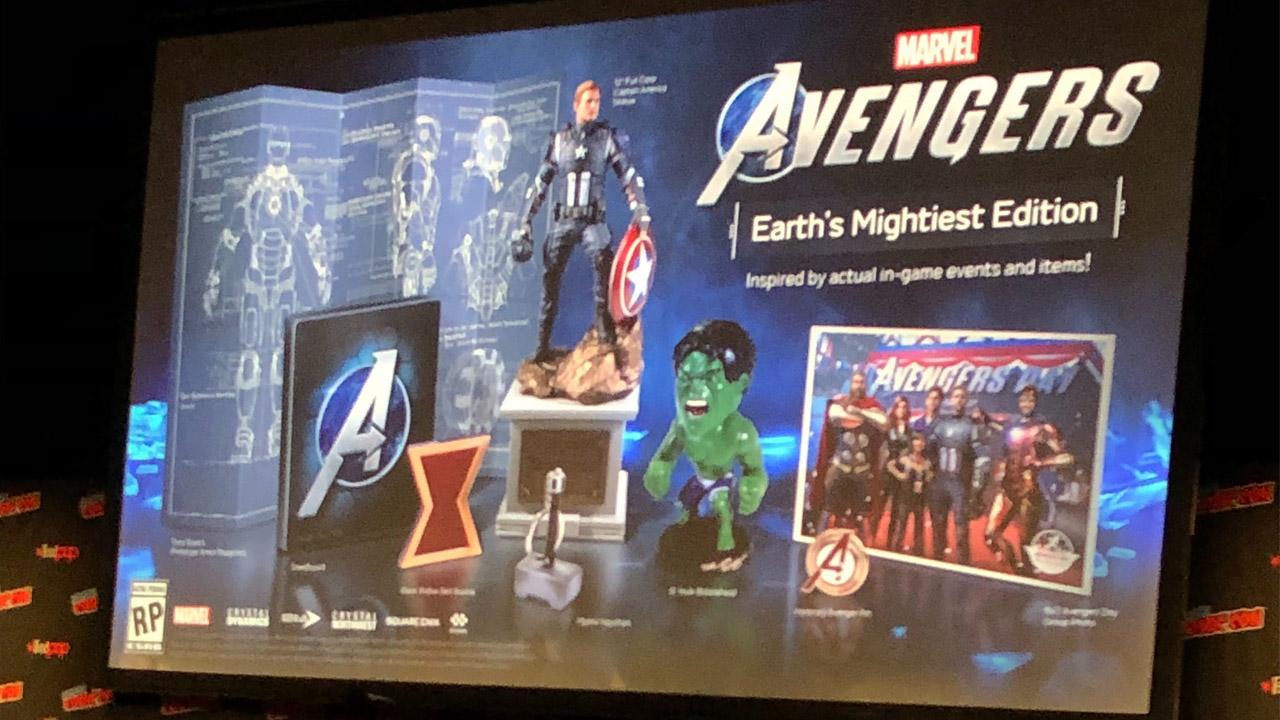 Edición coleccionista Marvel's Avengers