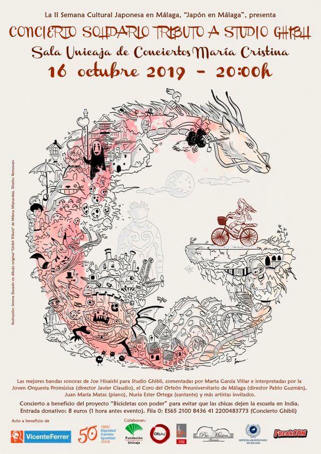 Concierto solidario Tributo a Studio Ghibli