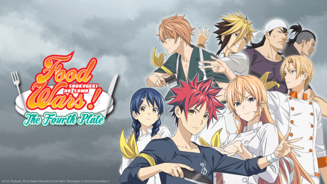 Crunchyroll Food Wars The Fourth Plate