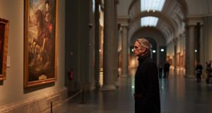 Jeremy Irons en El Prado