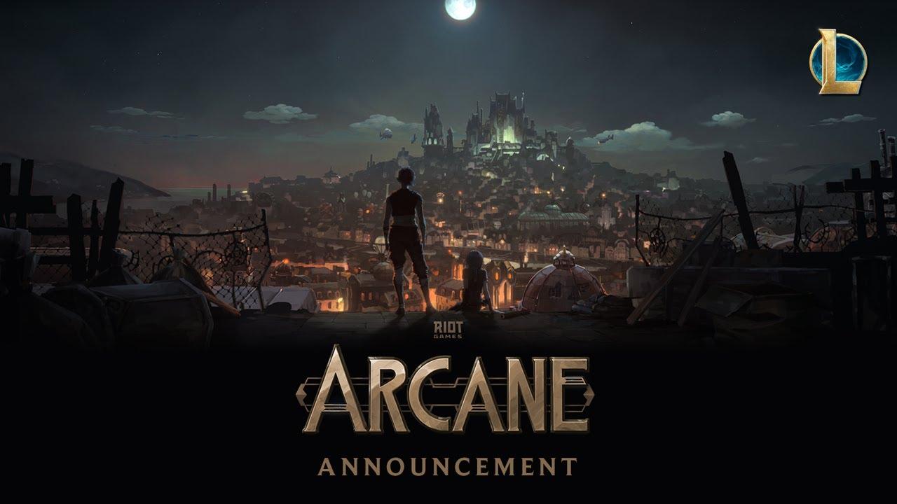 Arcane serie animación League of Legends