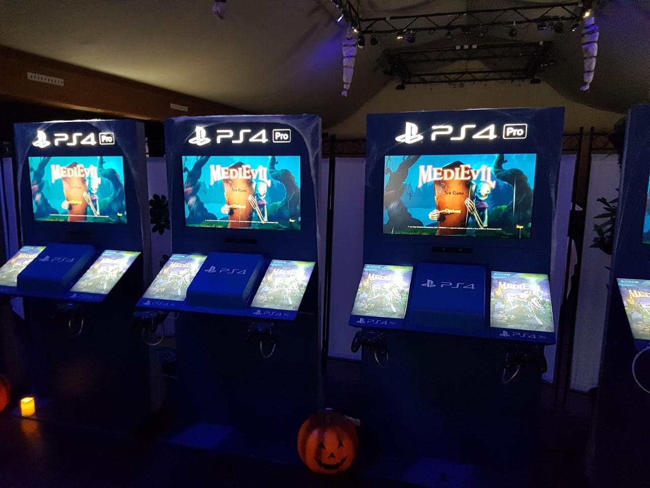 PlayStation puso a nuestra disposición el juego para probarlo a nuestro antojo, todo un detalle.