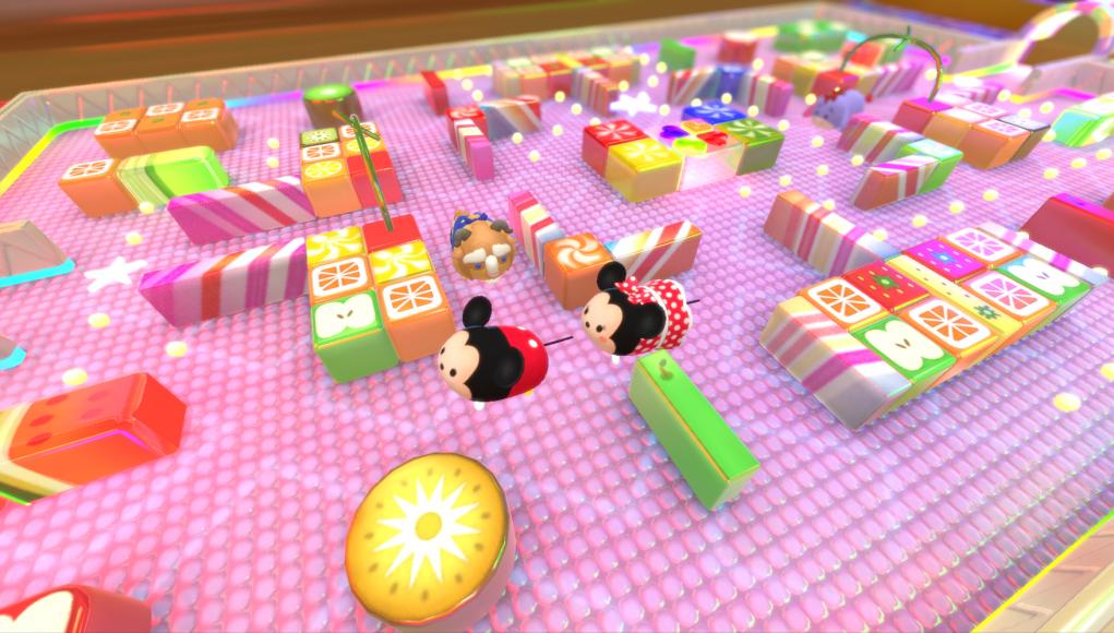 Mickey y Minnie Mouse en versión Tsum Tsum