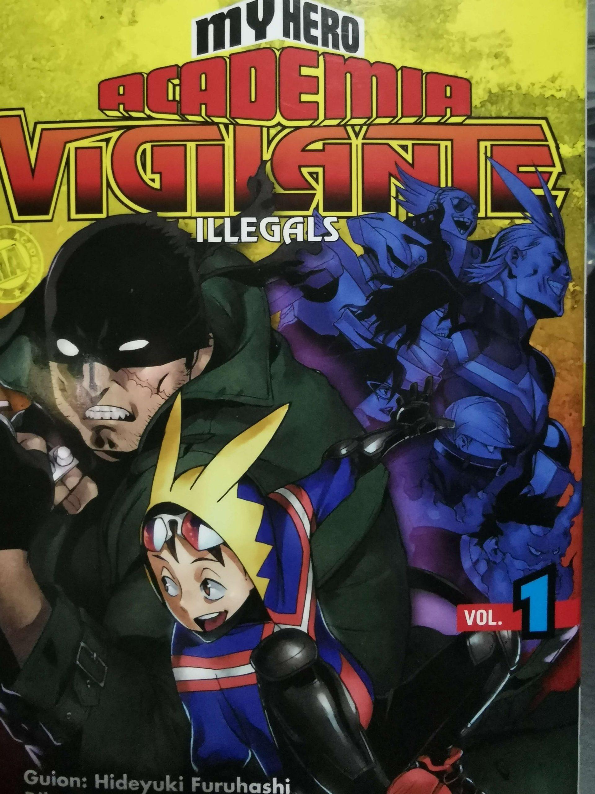 My Hero Academia Vigilante cubierta delantera