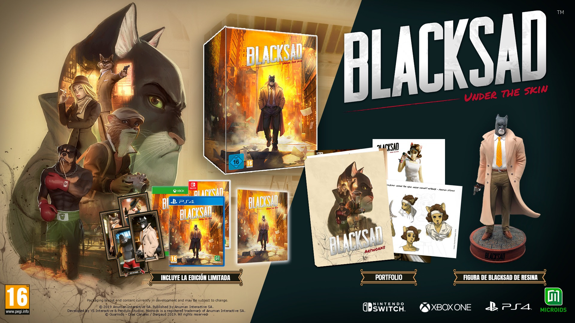 'Blacksad: Under The Skin', edición coleccionista