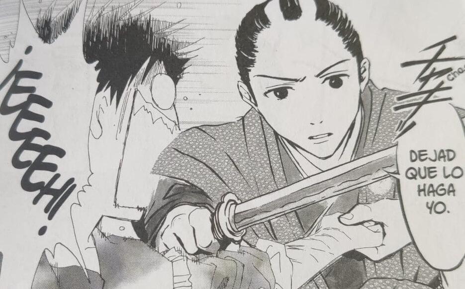 Un samurái en el cajón problemas de tono