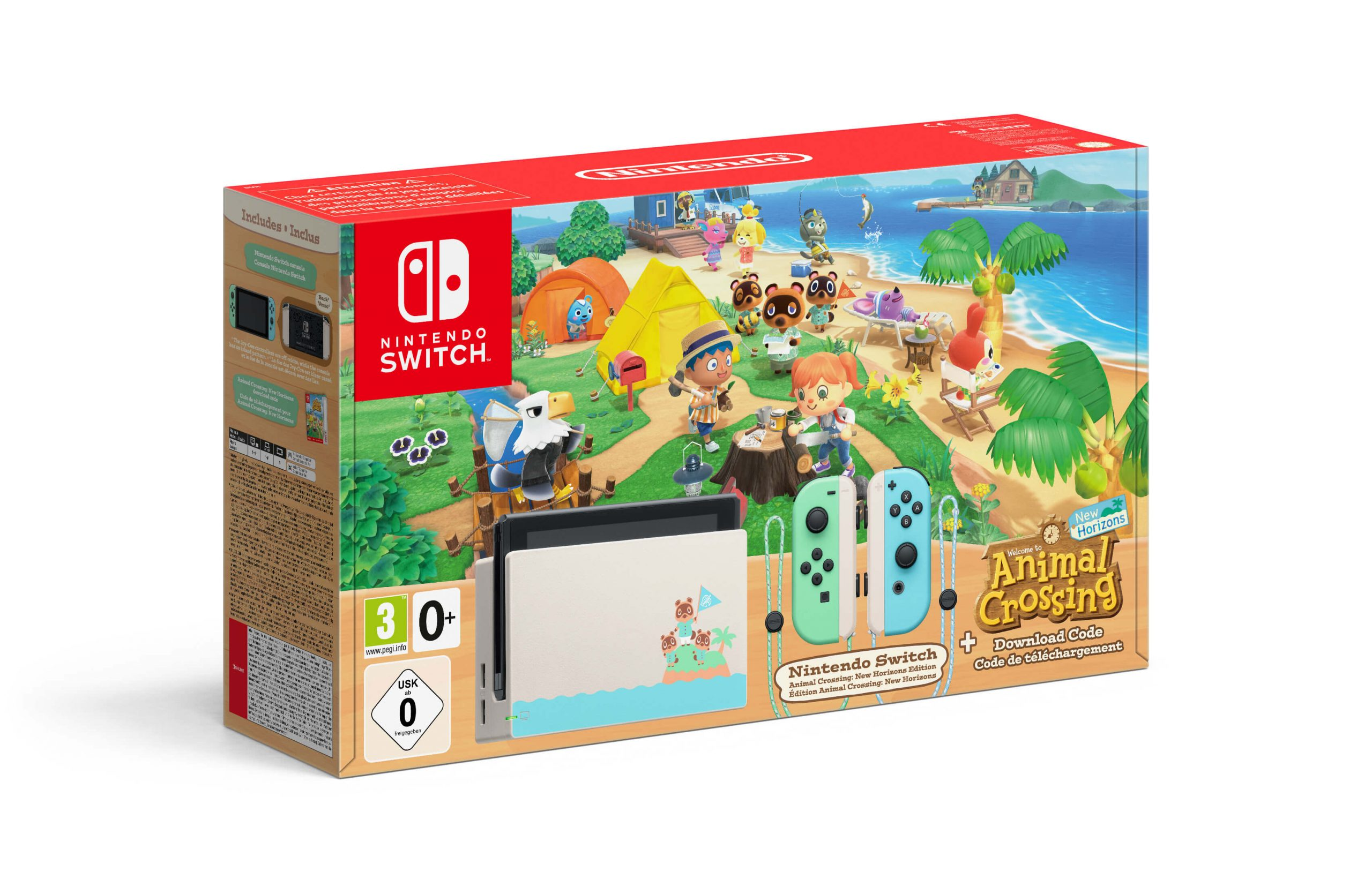Pack edición Animal Crossing
