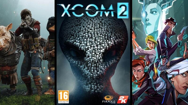 Mutant Year Zero, XCOM2 e Invisible Inc.