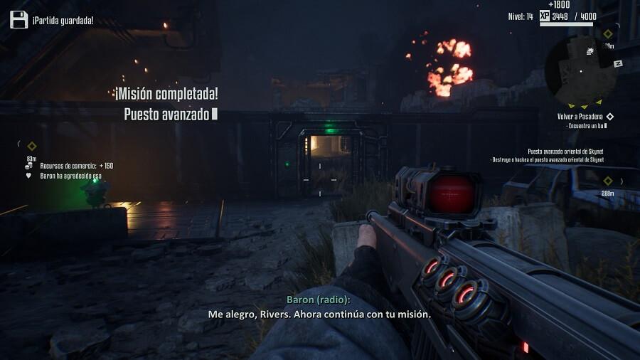 Análisis Terminator: Resistance
