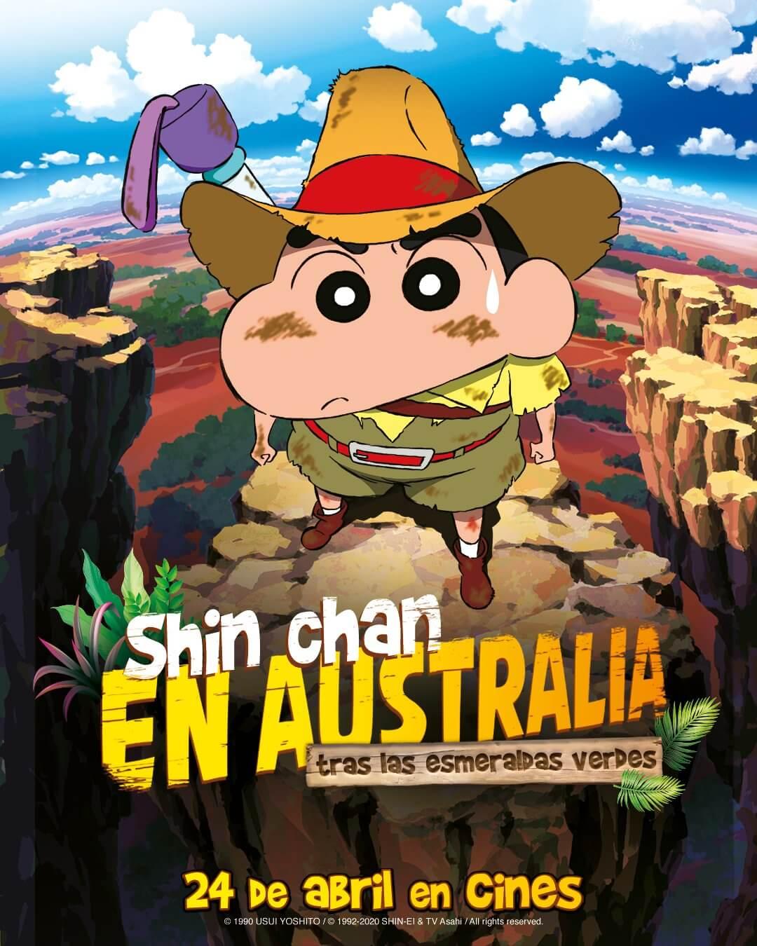 Shin chan 20 aniversario australia