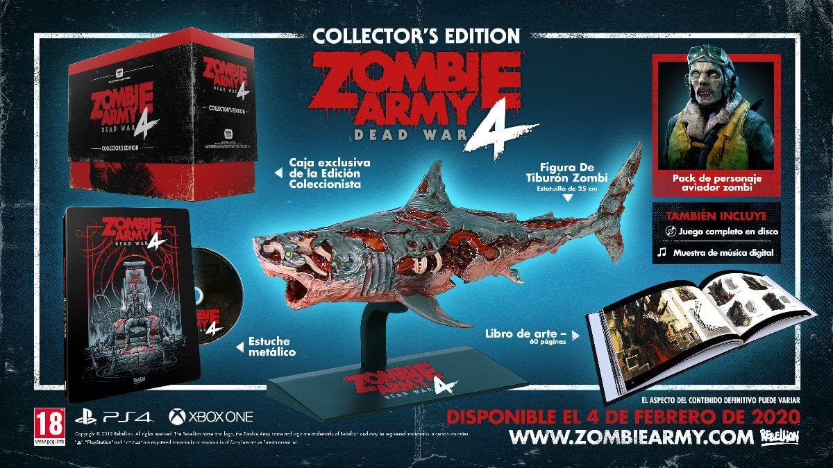Zombie Army 4 ya a la venta