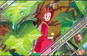 Arrietty reseña anime imagen destacada