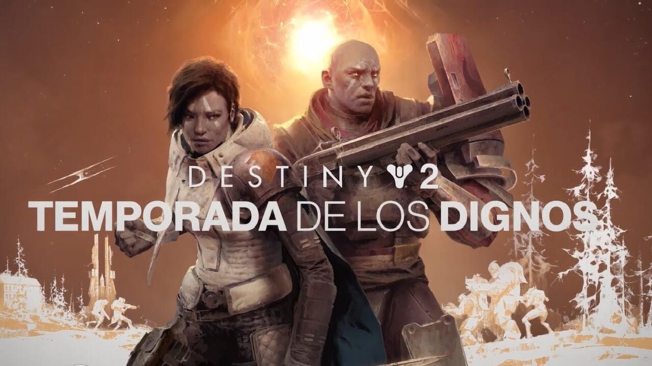 Destiny 2 Temporada Dignos