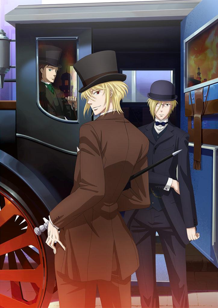 nueva imagen promocional Yūkoku no Moriarty