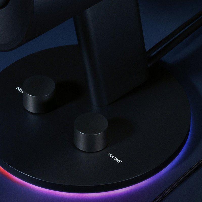 """Vista de los botones """"Volumen"""" y """"Bass""""."""