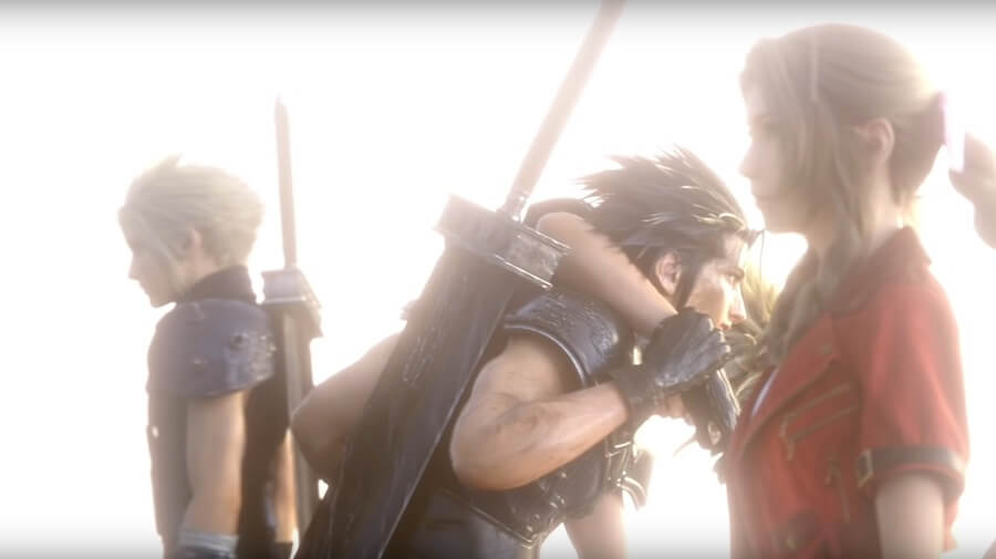 FFVII Remake vs FFVII Original - Escena final del Remake