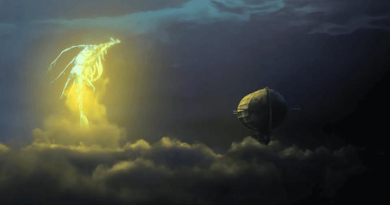 Reseña anime Drifting Dragons