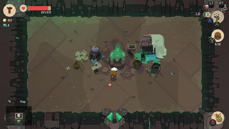 Análisis de Moonlighter Between Dimensions
