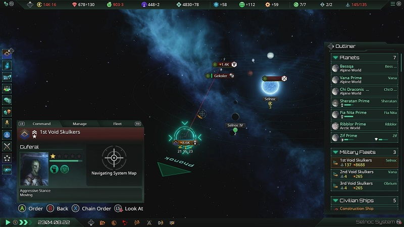 Análisis Stellaris: Console Edition