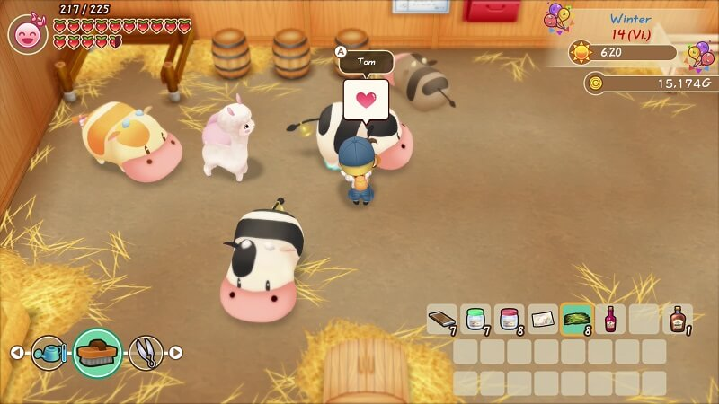 Análisis de Story Of Seasons Friends of Mineral Town