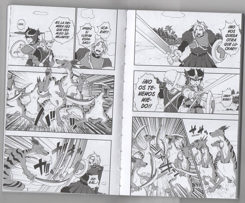 Reseña manga Dragon Quest VII #3
