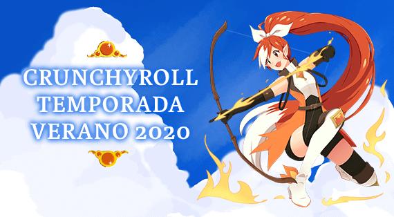Crunchyroll verano 2020 imagen destacada