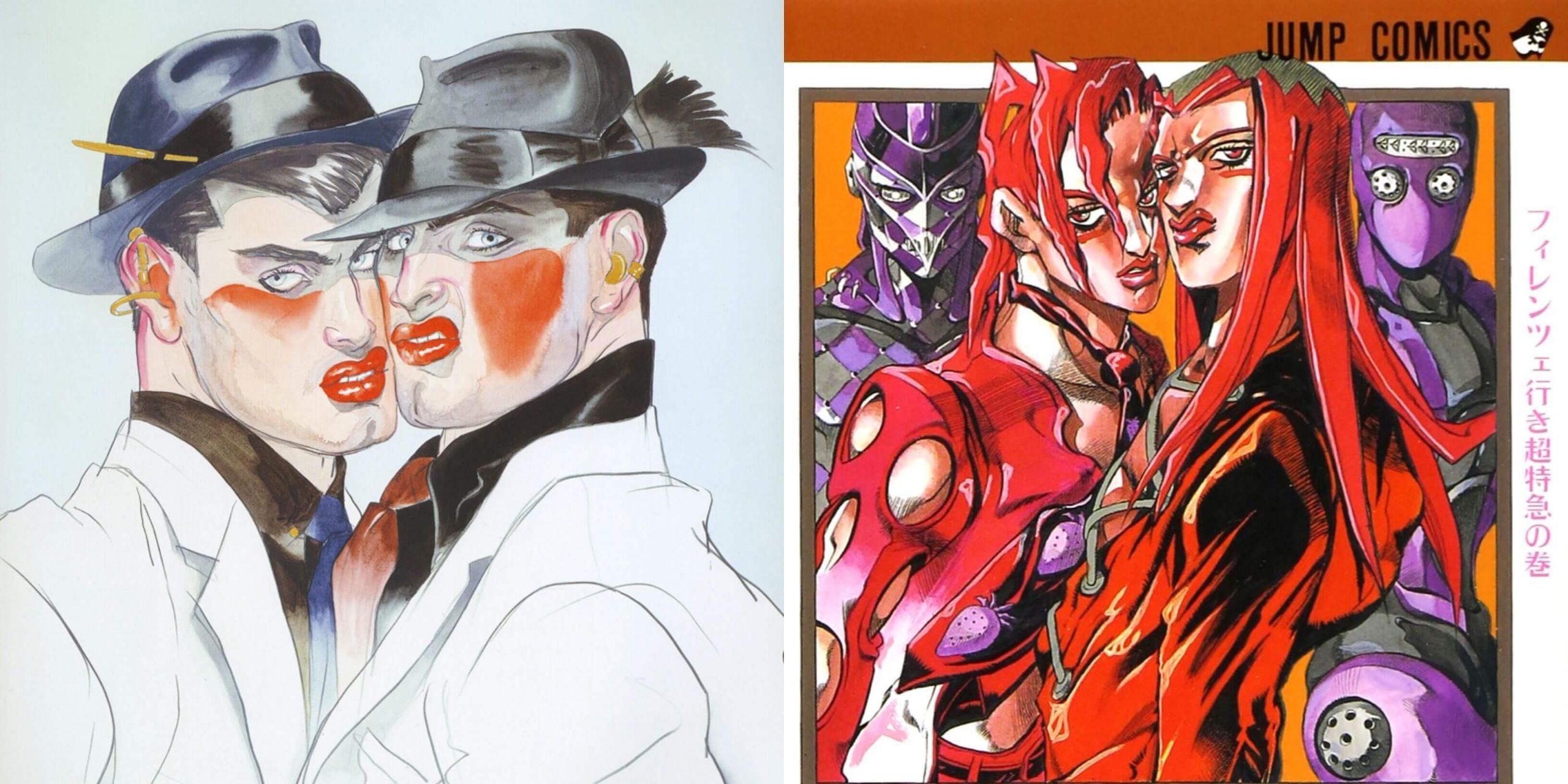 Moda manga Araki arte occidental