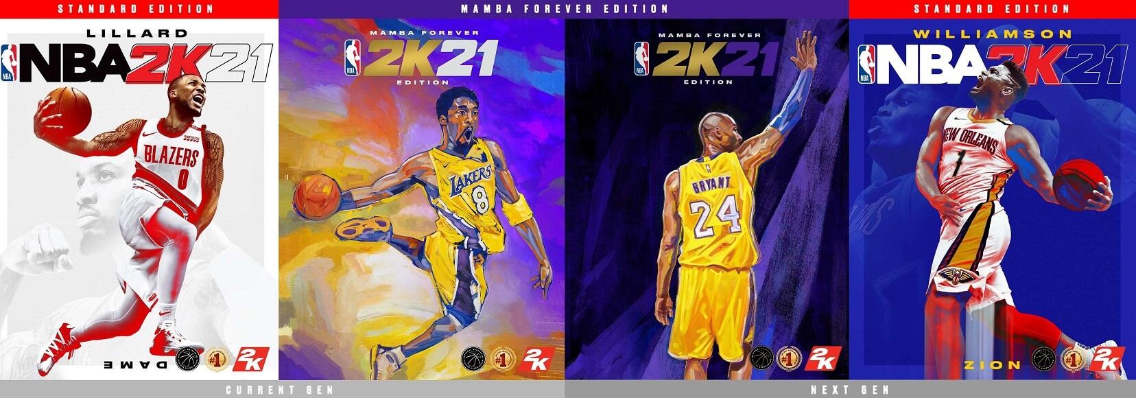 Reveladas las portadas NBA 2K21