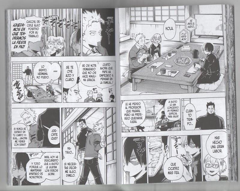Reseña manga My Hero Academia 21