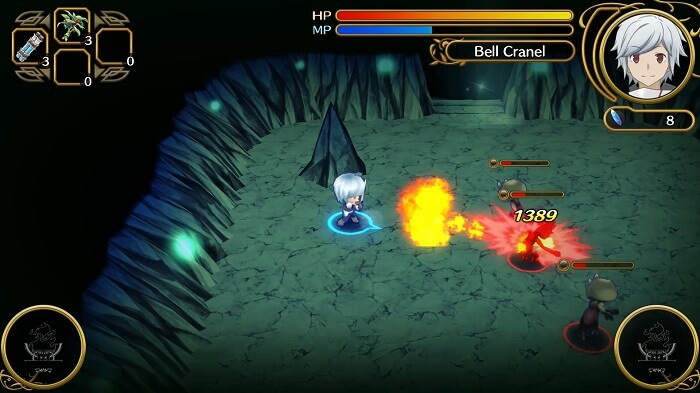 Análisis Is It Wrong to Try to Pick Up Girls in a Dungeon Infinite Combate