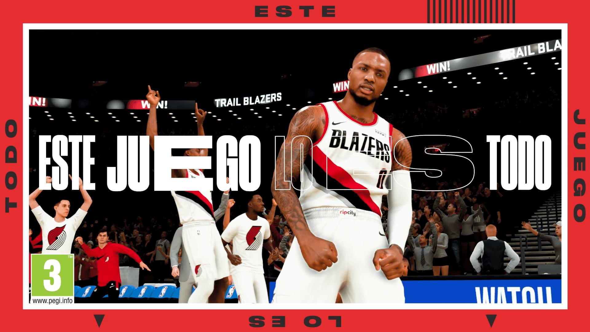 Tráiler gameplay NBA 2K21